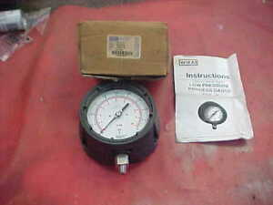 Wika 4217152 Low Pressure Process Hydraulic Gauge 1 4 Npd 5 Psi 4 1 2 Inch Face