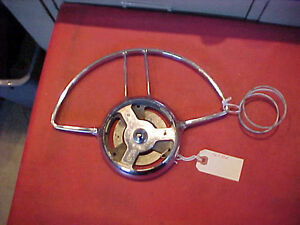 403526 Nice Used 48 49 50 51 52 53 54 Packard Steering Wheel Horn Ring Sprimg