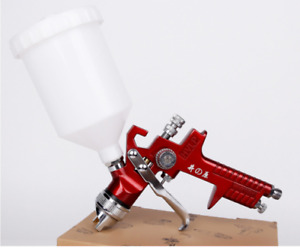 1 4 1 7 2 0mm Nozzle Hvlp Gravity Feed Professional Car Paint Spray Gun 600ml