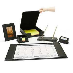 Mind Reader Desk Set Calendar Holder Card Holder Memo Holder File Holder