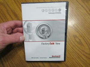 New Allen Bradley Rockwell 9701vwstmene Factory Talk View Software