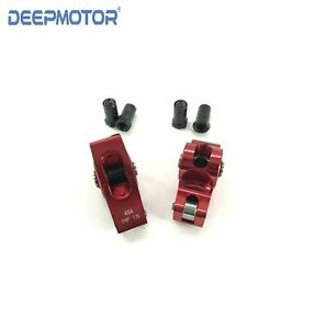 Deepmotor Chevy Bbc Big Block Aluminum Roller Rocker Arm 1 72 Ratio 7 16 Red