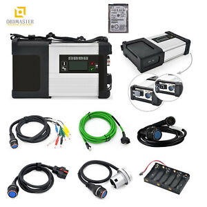 Mb Star Sd C5 2019 03 Xentry Diagnostic Wifi For Benz Multi langauge Dhl Hdd