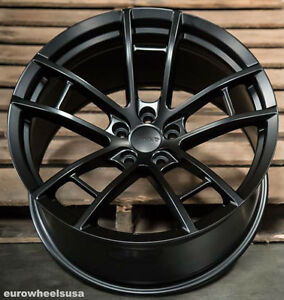 20x11 Mrr M392 Black Concave Wheel Rim Fits Dodge Charger Challenger Srt8 5x115