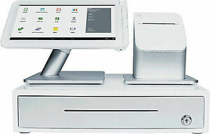 Clover Station Point Of Sale Pos Emv Chip Android Apple Pay 2 Systems Brand New