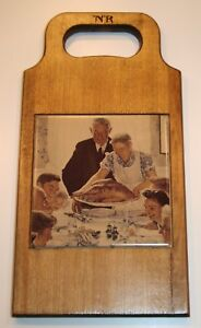 Vintage Cutting Bread Cheese Board Nice For Display