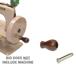 Singer 20 Toy Child Sewhandy Sewing Machine Brown Knob Shoulder Screw