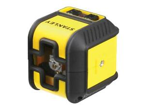 Stanley Intelli Tools Cubix Cross Line Laser Level red Beam Int177498