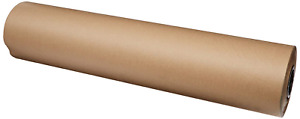 36 Inch 1200 Ft Brown Kraft Paper Roll Wrapping Sheets Packing Shipping Mailing