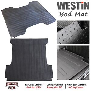 50 6415 Westin Rubber Truck Bed Mat Liner Ford Super Duty 8 Bed 2017 2019