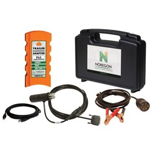 Noregon Trailer Diagnostic Adapter Kit With Power Supply Cable Nrs122511 New