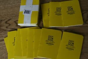 Lot Of 24 Rite In The Rain All weather Universal Mini Stapled Notebook New Other