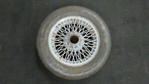 Mgb Mg 1962 1974 14 X 5 60 Spoke Wire Wheel 175 65 R14 Tire