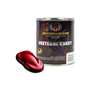 House Of Kolor Uk11 Kandy Apple Red Kosmic Kolor 1 Gallon