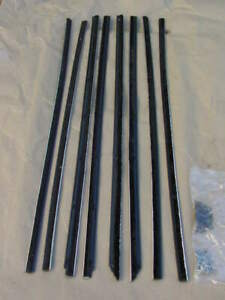 1955 1956 Plymouth Dodge Catwhiskers Set Belvedere Royal Lancer Windowsweeps