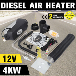 4kw 12v Diesel Parking Heater Cabin Air Heater Boats Usstock 40w Street Price