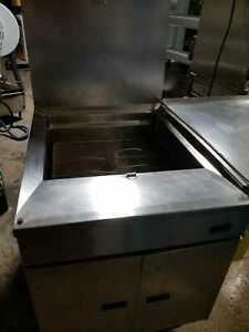 Used Pitco Gas Donut Fryer Model 24pss