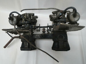 Datsun 510 1600 Intake Manifold W Dual 4 Screw Round Top Su Carburetors 521 Sss
