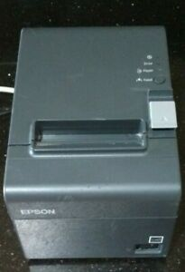 Epson Tm t20 Model M249a Point Of Sale Thermal Receipt Printer Tested