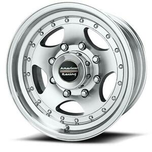 15 Inch 15x10 American Racing Ar23 Machined Wheel Rim 5x5 5x127 44