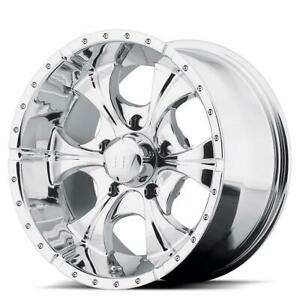 18 Inch 18x9 Helo He791 Maxx Chrome Wheel Rim 6x5 5 6x139 7 12