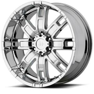 17 Inch 17x8 Helo He835 Chrome Wheel Rim 6x5 5 6x139 7 0