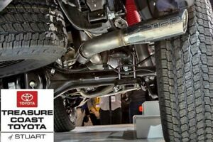 New Oem Toyota Tacoma 2016 2019 Double Cab Short Bed Trd Chrome Exhaust System
