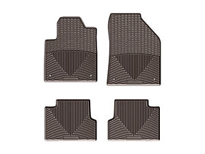 Weathertech All weather Floor Mats For Jeep Cherokee 2015 2019 1st 2nd Row Cocoa