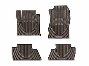 Weathertech All Weather Floor Mats For Silverado Sierra Crew Cab Full Set Cocoa