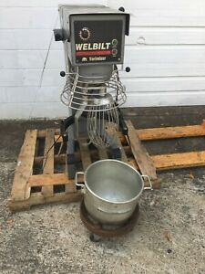 Used Welbilt Varimixer 40 Qt Planetary Mixer With 3 Attachments Model W40