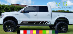 Ford F150 Vinyl Decal Sticker Graphics Kit Sport Side Door X2 Any Color