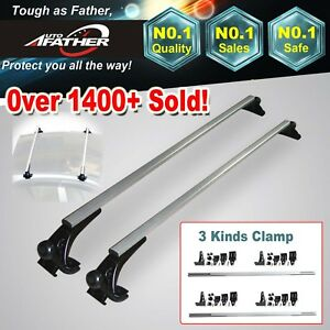 48 Car Top Luggage Cross Bar Roof Rack Carrier Skidproof For Honda Accord Civic
