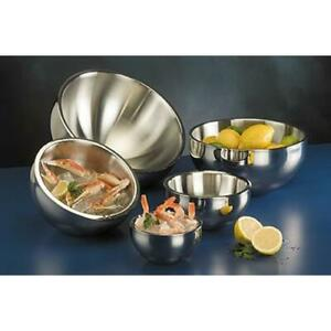 American Metalcraft Ab12 108 Oz Angled Double Wall Bowl
