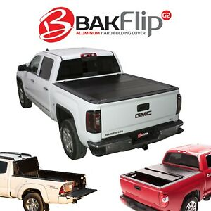 226103 Bakflip G2 Hard Folding Tonneau Cover S10 Sonoma 6 Bed 1993 2003