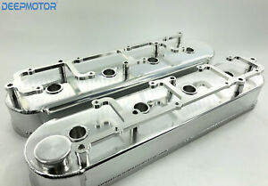 Deepmotor Ls1 Ls6 Fabricated Aluminum Valve Cover Coil Bracket Sliver