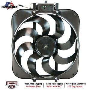 160 Flex A Lite Black Magic S Blade Electric Cooling Fan 18 H X 16 L X 4 1 4 D