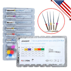 Cicada Dental Rotary Niti File Endodontic Endo U files Mixed Universal Fda Ce 25