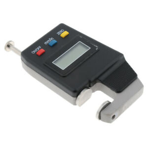 Digital Thickness Gauge Meter 0 15mm Lcd Electronic Dial Indicator Black