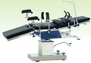 New Multi Purpose Manual Surgical Operating Table 3008c X ray Carbon Fiber Tops