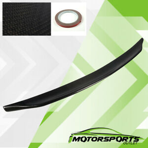 Fit 2008 2015 Mitsubishi Lancer Evo 10th Carbon Fiber Rear Trunk Wings Spoiler