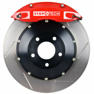 Stoptech 83 152004771 Rear Big Brake Kit 355mm X 32mm 2 Piece Slotted Rotors Red