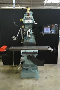 Swi Trak K3 Vertical Knee Type Milling Machine With Proto Trak Sm 2 Cnc Control