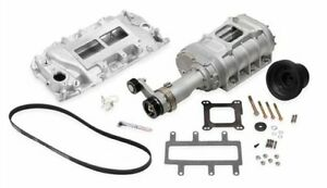Weiand 6521 1 177 Series Supercharger Kit Big Block Chevrolet Oval Port Long N