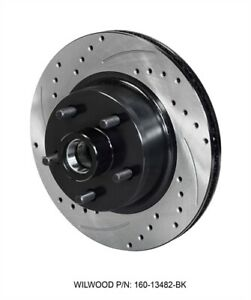 Wilwood 160 14323 bk Srp Drilled Performance Rotor And Hat Diameter 11 29 Width