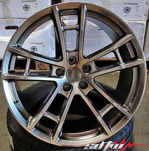 20 Wheels For Dodge Magnum Charger Challenger Srt 20x9 5 20x10 5 5x115 Set 4