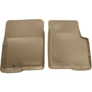 33003 Husky Liners Tan Front Floor Mats For Ford Bronco F Series 1980 1996