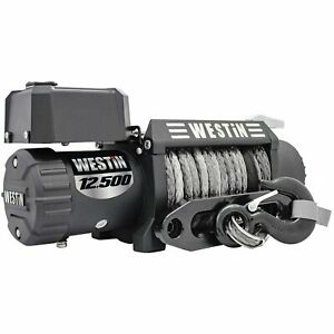 Westin 47 2109 Off road Series Winch 12500lbs Line Pull 6 6 Hp Motor 7 16 Synthe