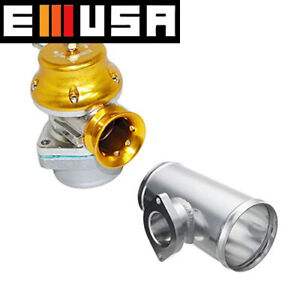 Rs Style Universal Billet Blow Off Valve greddy Type S Rs Flange 2 5 Tube Pipe