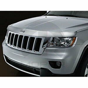 Mopar Accessories 82212047ab Front Air Deflector 2011 14 Jeep Grand Cherokee Tin