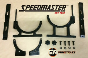 Speedmaster Nitrous Oxide Nos Billet Aluminum Single Bottle Holder Bracket Black